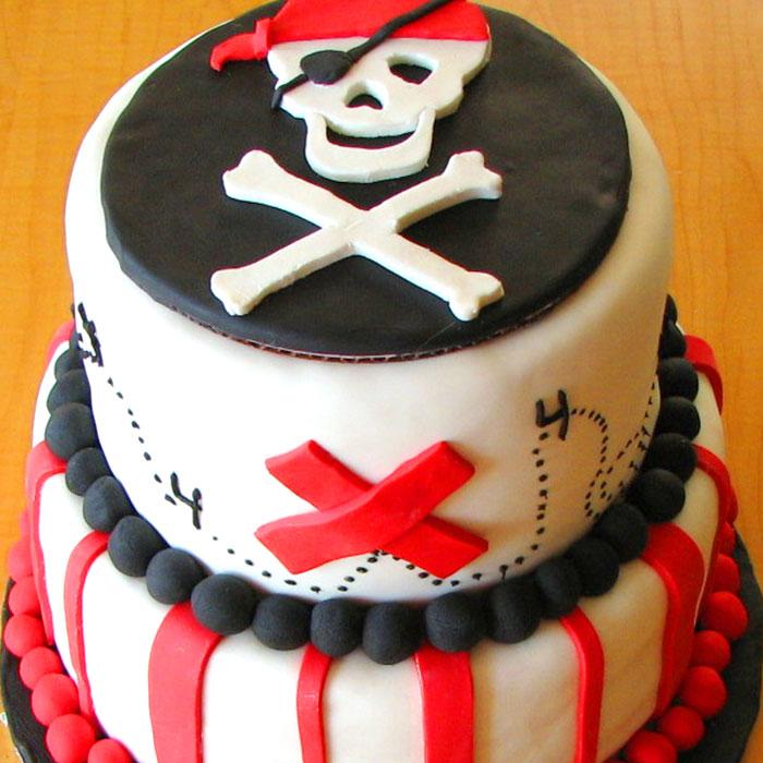 Пиратские сладости ручной работы от