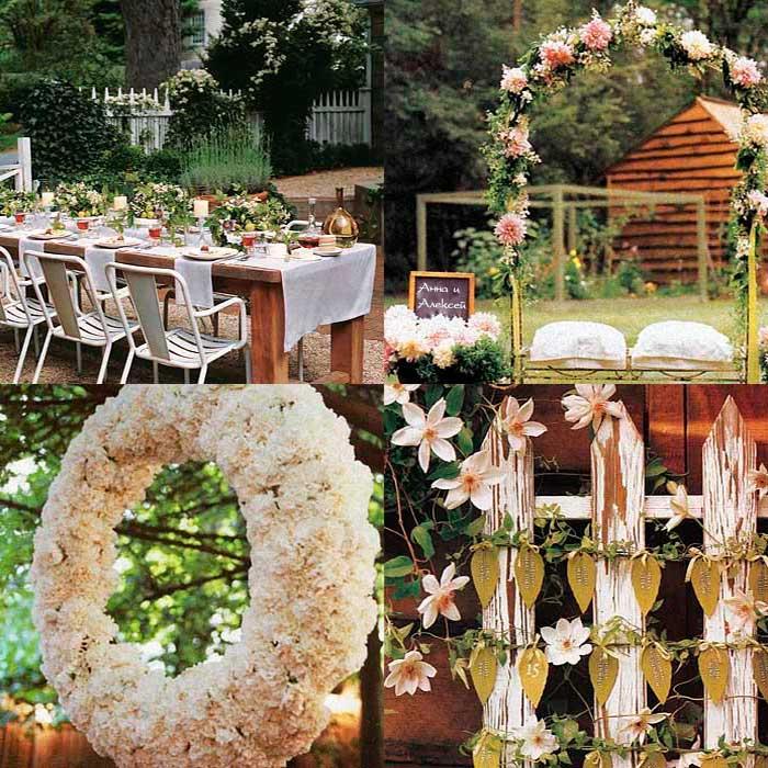 Дизайн свадьбы во дворе